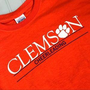 Clemson Cheerleading Tee Shirt Size M